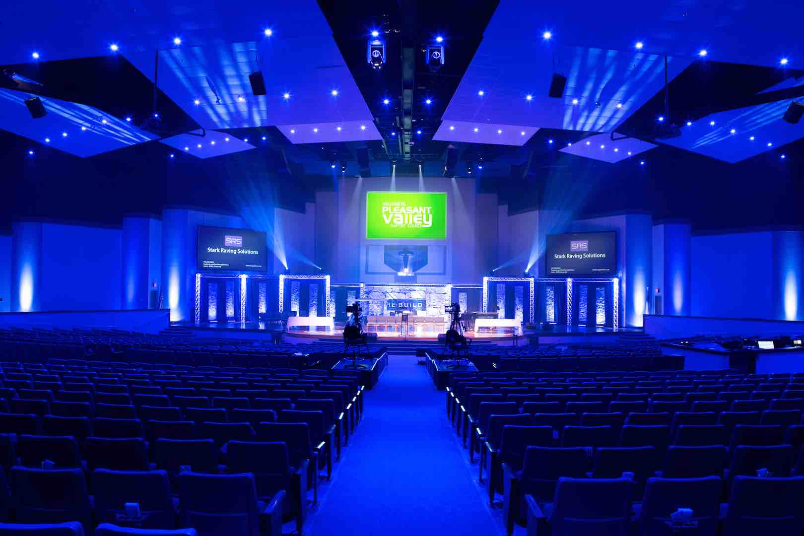 commercial lighting for churches